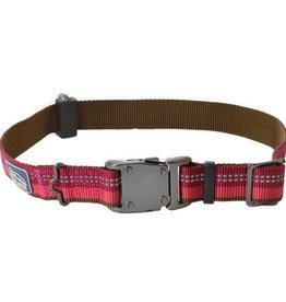 "Coastal Coastal K9 Explorer® Reflective Adjustable Dog Collar, Berry, 5/8"" x 10""-14"""