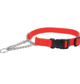 """COASTAL PET PRODUCTS INC Coastal Adjustable Check Training Collar™ with Buckle for Dogs, Red, 3/8"""" x 11""""-15"""""""