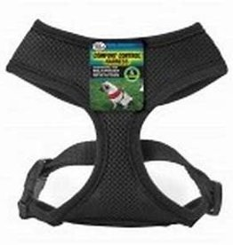 Four Paws Four Paws Comfort Control Harness Small Black