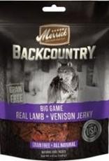 MERRICK PET CARE, INC. Merrick Backcountry Big Game Real Lamb + Venison Jerky  4.5 oz