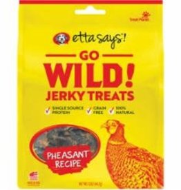 Etta Says Etta Says Dog Treat Jerky Go Wild Pheasant 5 oz