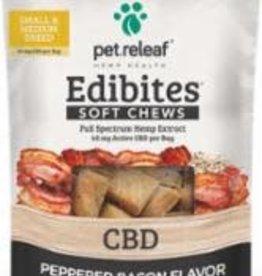 Pet Releaf PET RELEAF EDIBITE SM/MED BREED PEPPERED BACON 7.5oz/24