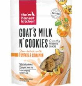 Honest Kitchen Honest Kitchen Goats Milk Cookies Pumpkin 8oz