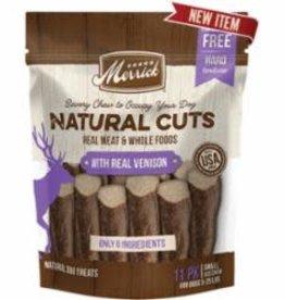 Merrick Merrick Natural Cuts with Real Venison Small Chew