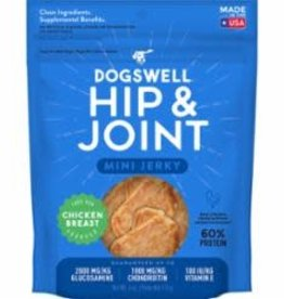 Dogswell DOGSWELL DOG HIP & JOINT JERKY MINI GRAIN FREE CHICKEN 4OZ