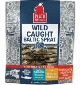 PLATO DOG TREATS Plato Baltic Sprat TRT