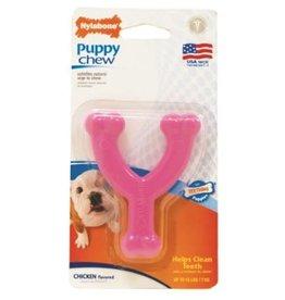 Nylabone Nylabone Puppy Chew Wishbone Pink Pet