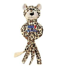 KONG COMPANY Kong Wubba No Stuff Tan Cheetah Large Dog Toy