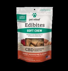 Pet Releaf Pet Releaf Edibites Large Breed Sweet Potato Pie Soft Chew Hemp Dog Supplements