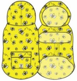 Canada Pooch Pick Me Ponchos - Bumble Bees