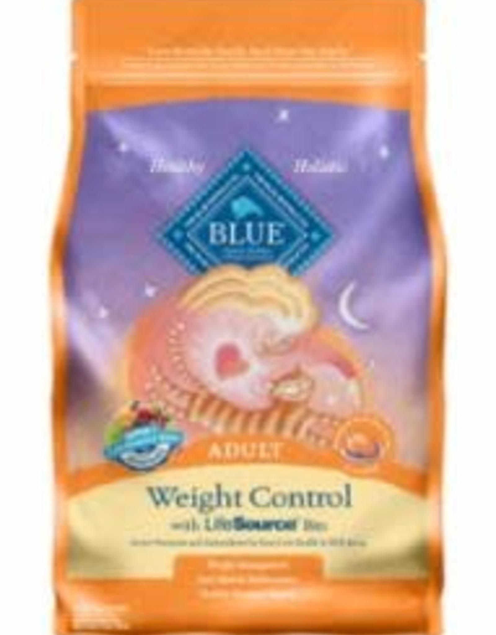 Blue Buffalo Blue Buffalo Weight Control Chicken/Brown Rice Cat 7# C=4