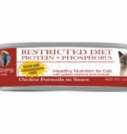 Daves Pet Food Dave's Pet Food Cat Restricted Diet Chicken Phosphorus Canned Cat Food 5.5oz