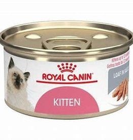 Royal Canine Royal Canin Feline Health Nutrition Kitten Loaf In Sauce Canned Cat 24 / 3 oz