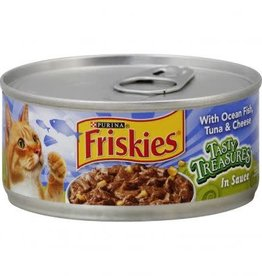 NESTLE PURINA PETCARE COMPANY Friskies Ocean Fish, Tuna, & Cheese 5.5oz