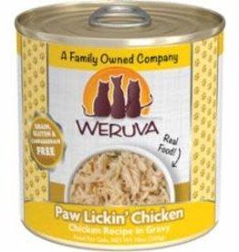 WERUVA INTERNATIONAL, INC. WERUV PAW LICK CKN CAT 12/10Z