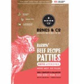 Bones & Co BONES & CO DOG FROZEN GRAIN FREE PATTIES BEEF 6LB