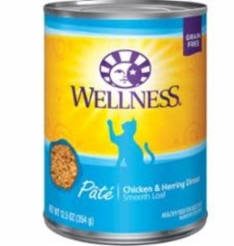 Wellness Wellness Canned Cat Chicken & Herring 12 / 12.5 oz