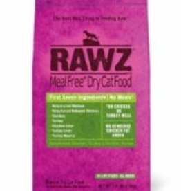 Rawz Rawz Cat Dry GF Chicken & Turkey Meal Free 3.5#