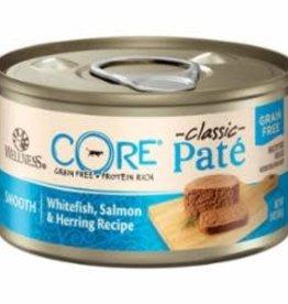 Wellness WELLNESS CAT CORE PATE WHITEFISH & SALMON 3OZ