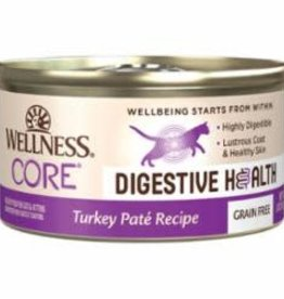 Wellness WELLNESS CORE CAT DIGESTIVE HEALTH GRAIN FREE PATE TURKEY 3OZ