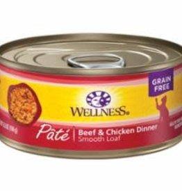 Wellness WELLNESS CAT COMPLETE HEALTH PATE BEEF CHICKEN 5.5OZ
