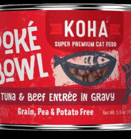 Koha Koha Cat Poke Bowl Tuna Beef can 5.5 oz