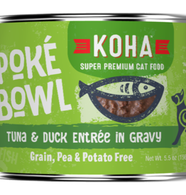 Koha Koha Cat Poke Bowl Tuna Duck can 5.5 oz