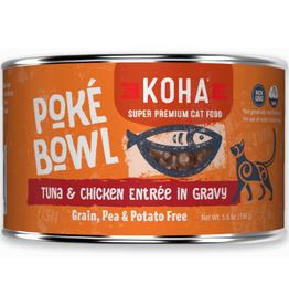 Koha Koha Cat Poke Bowl Tuna Chicken can 5.5 oz