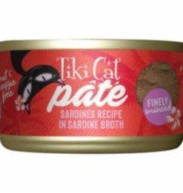Tiki Pets TIKI PET CAT GRILL PATE SARDINE 2.8OZ