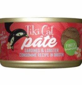 Tiki Pets TIKI PET CAT GRILL PATE SARDINE & LOBSTER 2.8OZ