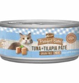 Merrick Pet Foods MERRICK CAT PURRFECT BISTRO PATE TUNA & TILAPIA 3OZ