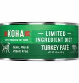 Koha Koha Cat Can Grain Free Turkey Pate 3 oz