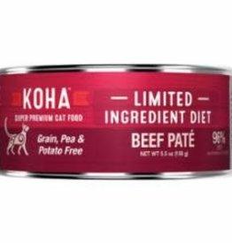 Koha Koha Cat Can Grain Free Beef Pate 3 oz