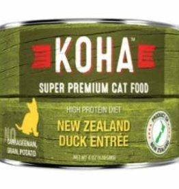 Koha Koha Cat Can Grain Free Duck Pate 3 oz