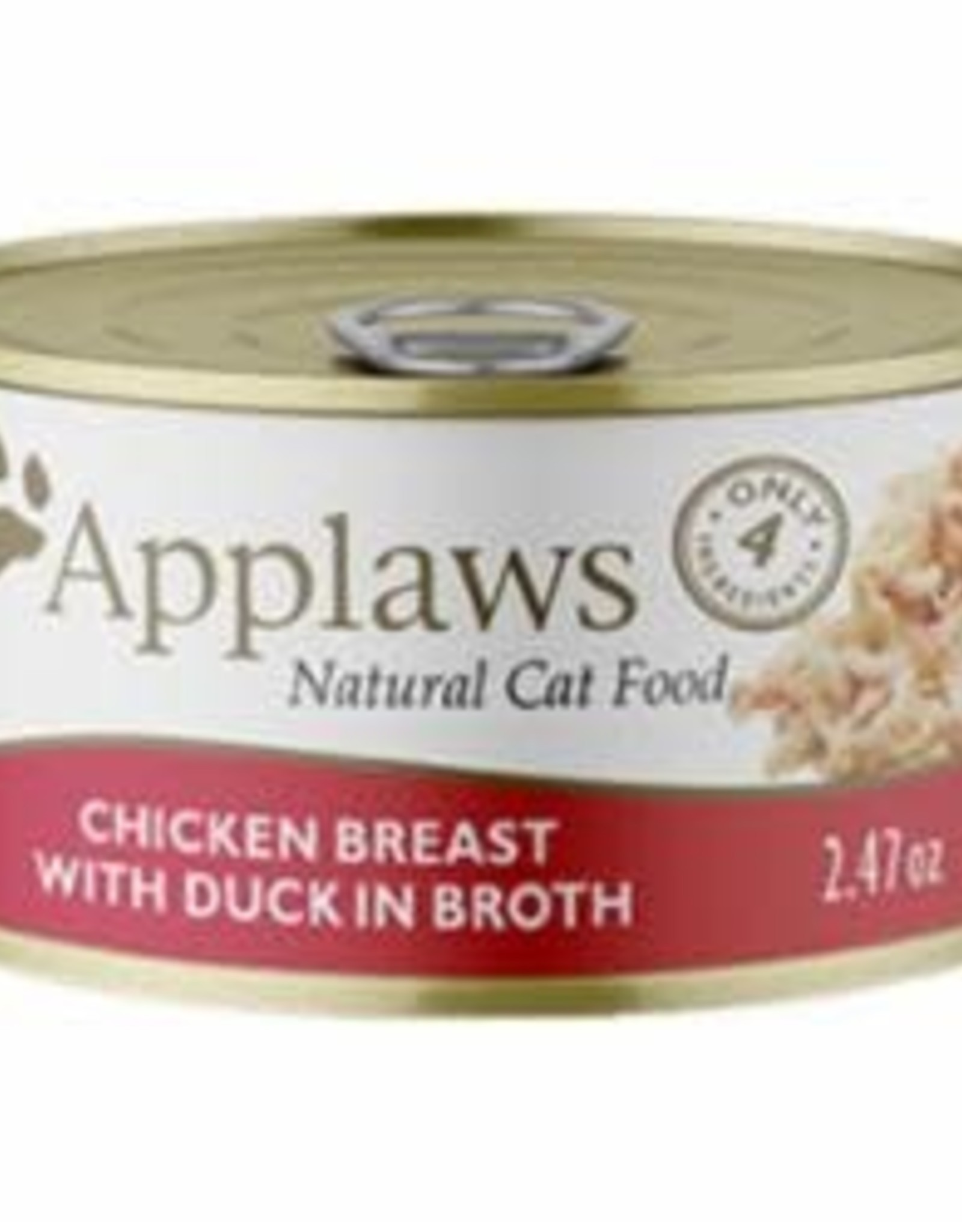 Applaws Applaws Chicken Breast with Duck in Broth 2.47oz