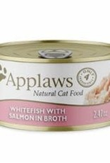 Applaws APPLAWS CAT WHITFISH & SALMON 2.47OZ