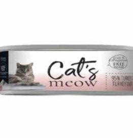 Daves Pet Food Daves Cats Meow 95% Turkey Liver & Turkey 5.5 oz - 24/case