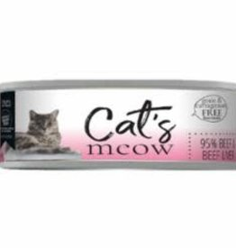 Daves Pet Food Daves Cats Meow 95% Beef & Beef Liver 5.5 oz - 24/case