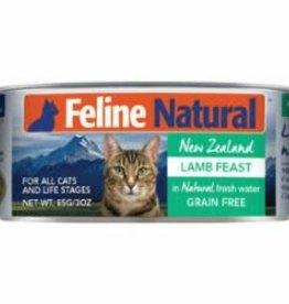Feline Natural FELINE NATURAL CAT GRAIN FREE LAMB 3OZ