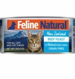 Feline Natural FELINE NATURAL CAT GRAIN FREE BEEF 3OZ