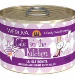 Weruva Weruva Cats In The Kitchen Grain Free La Isla Bonita (Mackerel & Shrimp) 6 oz