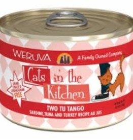 Weruva Weruva Cats In The Kitchen Grain Free Two Tu Tango (Sardine, Tuna & Turkey) 6 oz