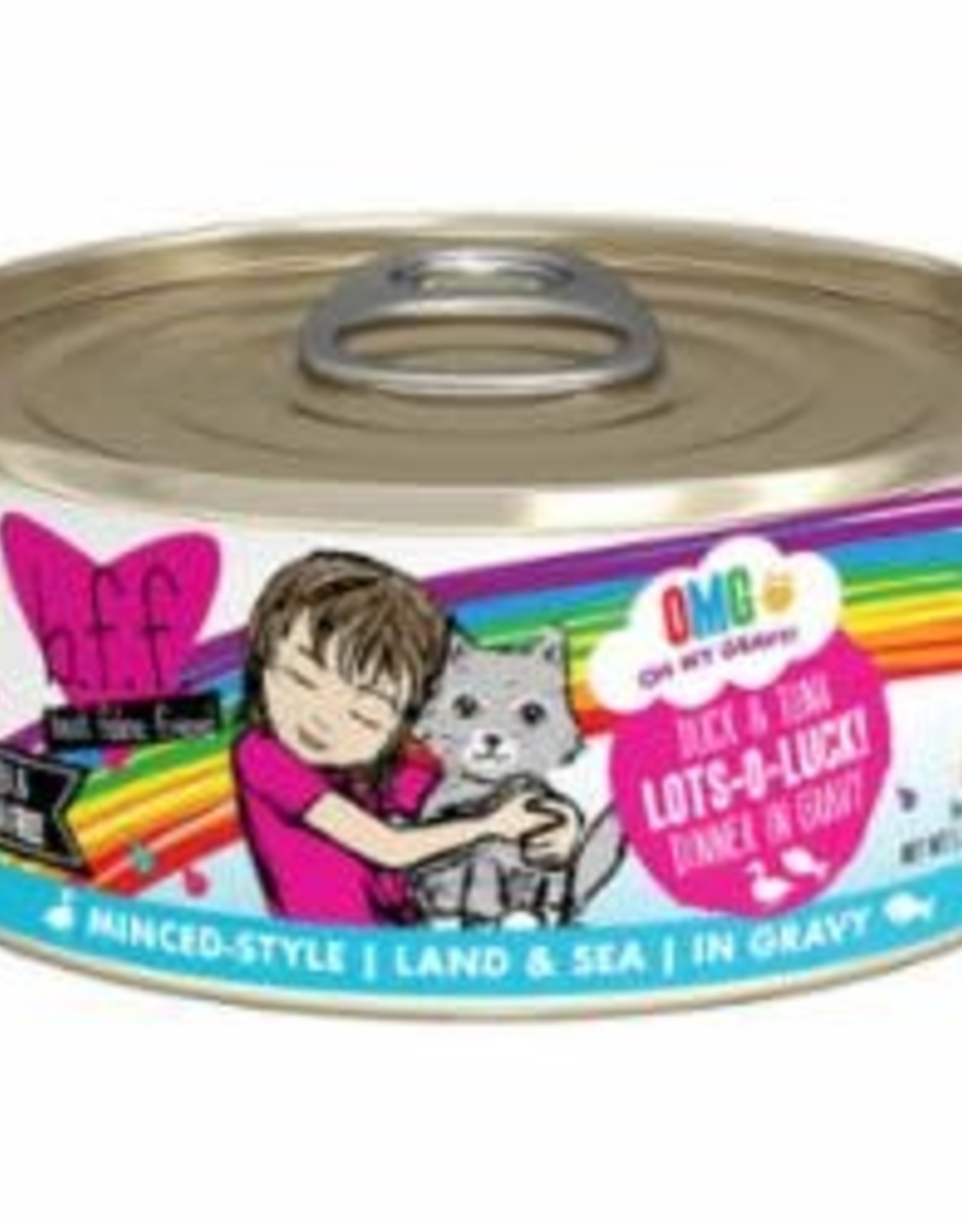 Weruva BFF CAT LOTS LUCK DUCK & TUNA 5.5OZ
