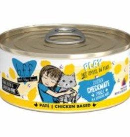 Weruva Weruva Cat BFF Play Can GF Chicken - Check Mate 5.5 oz 8/Tray