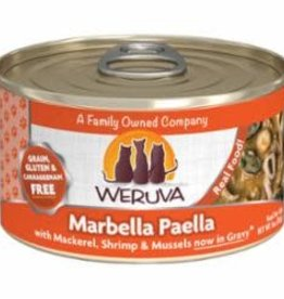 Weruva Weruva 3 oz Cat Can Marbella  Paella 24/CS