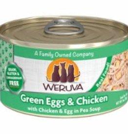 Weruva Weruva 3 oz Cat Can Green Eggs  & Chicken 24/CS