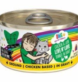 Weruva Weruva BFF OMG Can Grainfree Chicken & Lamb - Live n' Love 2.8 oz