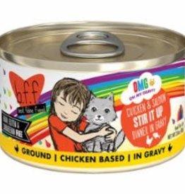 Weruva Weruva BFF OMG Can Grain free Chicken & Salmon - Stir It Up 9 2.8 oz