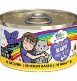Weruva Weruva BFF OMG Can Grain Free Chicken & Beef - Be Happy 2.8 oz