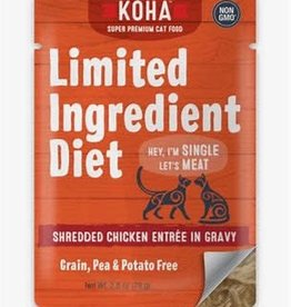 Koha Koha Cat Can Limited Grain Free Chicken Shredded 2.8 oz